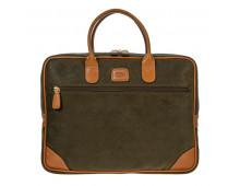 Briefcase BRICS Life Olive Life Olive