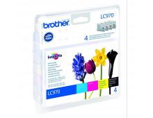 Комплект картриджей BROTHER LC970VALBP      LC970VALBP