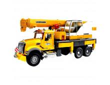 Купить Машина BRUDER MACK Granite Liebherr Crane Truck 2818 Elkor
