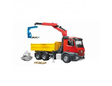 Mašīna BRUDER MB Arocs Construction truck with crane MB Arocs Construction truck with crane