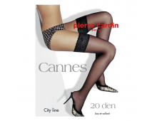 Zeķes PIERRE CARDIN Cannes Nero Cannes Nero