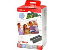 Tintes kasetne CANON KP-108IP/108IN INK/Paper set KP-108IP/108IN INK/Paper set