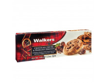 Buy Cookies WALKERS Chocolate Chunk and Hazelnut  Elkor