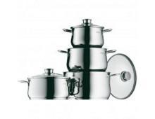 Buy Set of pots WMF Cookware set 4-pcs Diadem Plus 730046040 Elkor