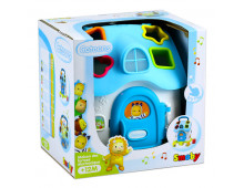Buy Musical toy SMOBY Cotoons Shape Sorter House electronic 7600110401 Elkor