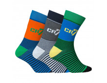 Buy Socks CRISTIANO RONALDO CR7  8470 80 448 Elkor