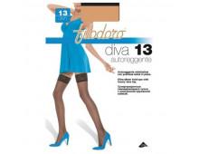 Чулки FILODORO Diva 13 Autoreggente Nuage Diva 13 Autoreggente Nuage