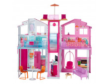 Buy Dollhouse BARBIE Passport 3 Story Townhouse DLY32 Elkor