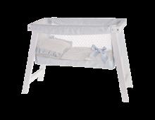 Buy Doll furniture ANTONIO JUAN Cuna Madera Azul 0145A Elkor