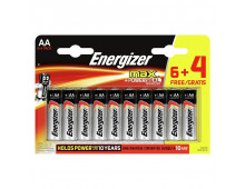 Battery pack ENERGIZER MAX AA 6+4 MAX AA 6+4