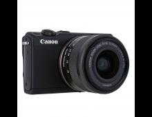 Купить Цифровая зеркальная фотокамерa CANON EOS M100 BK M15-45 S Black  Elkor