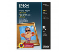 Buy Photographic paper EPSON Photo Glossy A3/20/200g C13S042536 Elkor