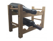 Pirkt Statīvs pudelēm VIN BOUQUET Bamboo Rack 6 bottles FIE 006 Elkor