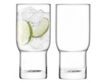Купить Комплект стаканов LSA Utility Highball 390ml Clear G1323-14-301A Elkor