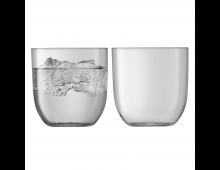 Купить Комплект стаканов LSA Hint Tumbler 400ml Pale Slate G1432-14-189 Elkor
