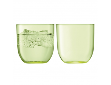 Купить Комплект стаканов LSA Hint Tumbler 400ml Pale Lime G1432-14-628 Elkor