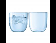 Купить Комплект стаканов LSA Hint Tumbler 400ml Pale Turquoise G1432-14-734 Elkor