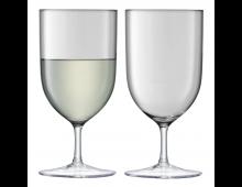 Купить Комплект стаканов LSA Hint Wine/Water 400ml Pale Slate G939-14-189 Elkor