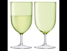 Купить Комплект стаканов LSA Hint Wine/Water 400ml Pale Lime G939-14-628 Elkor