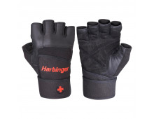 Buy Fitness Gloves HARBINGER Pro WW Black 114020/11430/11440/11450 Elkor