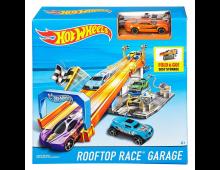 Buy Track HOT WHEELS Rooftop Race Garage DRB29 Elkor