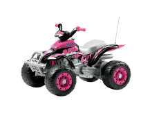 Buy Electric car PEG-PEREGO Corral T-Rex Pink IGOR0073 Elkor