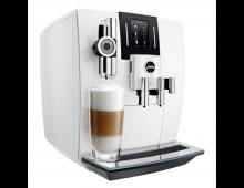 Buy Coffee machine JURA J6 Piano White 870154 Elkor