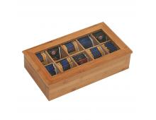 Купить Посуда для хранения продуктов KESPER FSC MIX 85% Tea Box bamboo 58901 Elkor