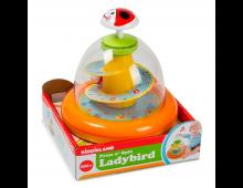 Pirkt Attīstošā rotaļlieta KIDDIELAND Press n'Spin Ladybird 52126 Elkor
