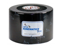 Kinesiology tape KINESTAPE Kinematics Tex Black Kinematics Tex Black