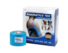 Kinezioloģiskais teips KINESTAPE Kinematics Tex Light Blue Kinematics Tex Light Blue
