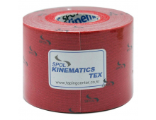 Kinesiology tape KINESTAPE Kinematics Tex Red Kinematics Tex Red