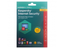 Buy Antivirus program KASPERSKY Internet Security 1 Device 1Y Renewal KL1941XUAFR Elkor