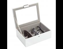 Шкатулкa для ювелирных изделий LC DESIGNS Classic White Lidded Eyewear Classic White Lidded Eyewear