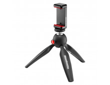 Купить Tреножник MANFROTTO PIXI  Mini with Phone Clamp MKPIXICLAMP-BK Elkor