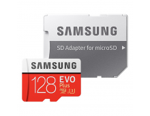 Memory Card SAMSUNG 128GB Micro SDXC EVO+ Class10 128GB Micro SDXC EVO+ Class10