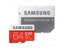Atmiņas karte SAMSUNG 64GB Micro SDXC EVO+ Class 10 64GB Micro SDXC EVO+ Class 10