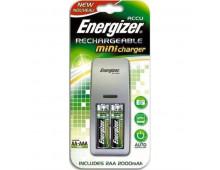Зарядное устройствo ENERGIZER Mini EU Plug+ 2AA 2000mAh Mini EU Plug+ 2AA 2000mAh