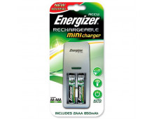 Зарядное устройствo ENERGIZER Mini EU Plug+ 2AAA 850mAh Mini EU Plug+ 2AAA 850mAh