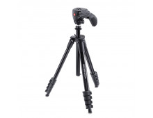 Купить Штатив MANFROTTO Compact Action Black MKCOMPACTACN-BK Elkor