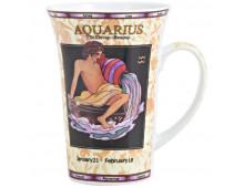 Buy Mug LILING CERAMIC Mug zodiak AQUARIUS  Elkor