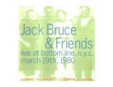 Pirkt Mūzikas disks  Jack Bruce & Friends ‎– Live At Bottom Line  Elkor