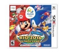 3DS spēle Mario & Sonic at the Rio 2016 Olympic games Mario & Sonic at the Rio 2016 Olympic games