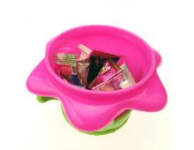 Купить Миска NUBY Snack keeper Flower ID22005 Elkor