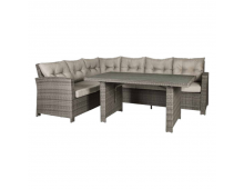 Купить Комплект EVELEKT Pavia with cushions Bruns 21090 Elkor