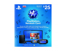 Карта предоплаты SONY Playstation Network Card 25GBP Playstation Network Card 25GBP