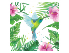 Buy Napkins PPD Tropical Hummingbird 1332706 Elkor