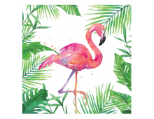 Buy Napkins PPD Tropical Flamingo 1332707 Elkor