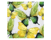 Buy Napkins PPD Green Butterflies 1332724 Elkor