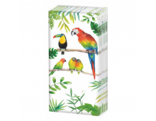 Buy Napkins PPD Sniff Tropical Birds 51661 Elkor